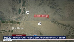 Man rescued from mine shaft near Gila Bend