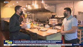 Phoenix restaurant converts parking lot for outdoor dining