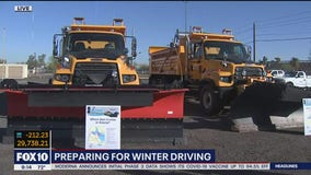ADOT getting snowplows ready for winter weather in Arizona