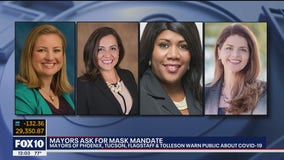 Four Arizona mayors call on Gov. Ducey for statewide mask mandate