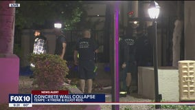 Tempe Fire crews rescue man from a hole created by a water leak