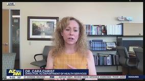 AZDHS Director Dr. Cara Christ addresses rising COVID-19 cases in Arizona