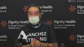 Man recovers after surviving COVID-19 and receiving double lung transplant