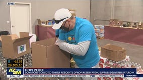 Donation drive held to benefit Hopi Nation residents amid COVID-19
