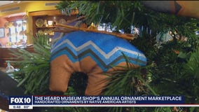 One-of-a-kind ornaments on display at the Heard Museum