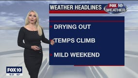 6PM Weather Forecast - 11/27/2020
