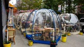Are dining tents a safe way to eat out amid the COVID-19 pandemic?