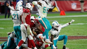 Tagovailoa, Dolphins rally for 34-31 win over Cardinals