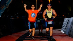 Florida athlete becomesfirst person with Down syndrome to finish IRONMAN triathlon