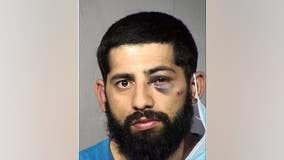 Ariz. man arrested after hitting pedestrian and crashing into 4 cars and tombstone at cemetery