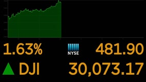 Dow crests 30,000 points on vaccine hopes, Biden transition