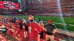 'I do feel safe here': Cardinals season pass holder enjoys home game