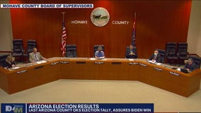 Mohave County OKs election tally, assures Biden win