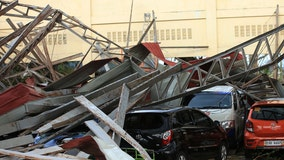 Powerful typhoon kills 10 in the Philippines