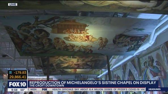 How to view Michaelangelo's Sistine Chapel art in downtown Phoenix