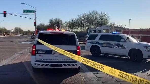 Phoenix PD: One dead in three-car crash near 16th St and Buckeye