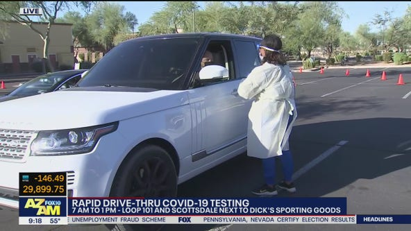 Rapid COVID-19 testing available in Scottsdale