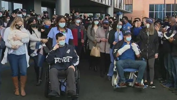 NYPD cops who survived shootout now recuperating at home