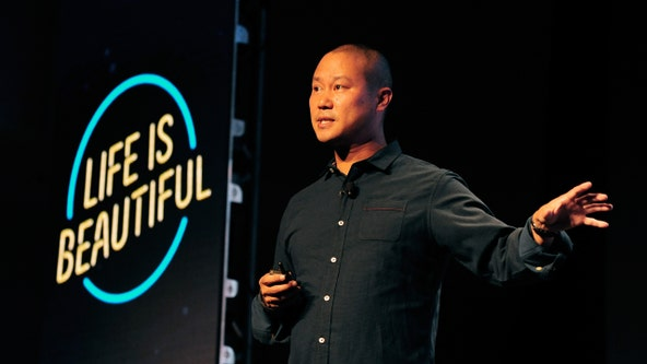 Tony Hsieh died from smoke inhalation, official says