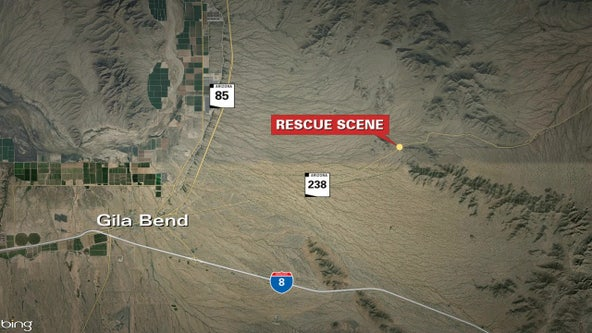 MCSO: Man taken to hospital following mine shaft rescue near Gila Bend