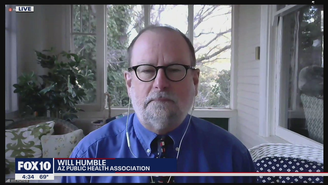 Health expert Will Humble reacts to Governor Ducey`s...