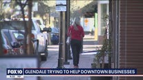 Glendale city officials working to support businesses in its downtown area