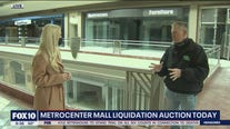 Auction underway for dozens of leftover items from Metrocenter Mall