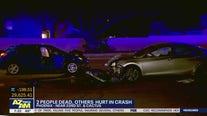 2 women dead following 4-car crash in Phoenix