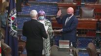 Mark Kelly sworn into U.S. Senate