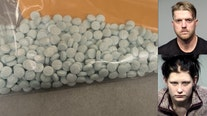 YCSO: Man, woman pulled over with hundreds of fentanyl pills