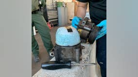 Tucson Border Patrol K-9 detects fentanyl pills smuggled inside air conditioning unit
