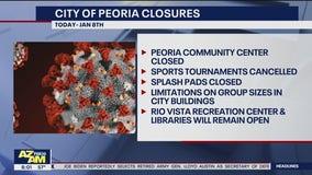 Peoria closes community center, cancels sports tournaments amid COVID-19 surge