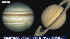 How to view the 'Christmas Star' on Dec. 21