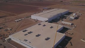 Construction work complete on Lucid car manufacturing facility in Arizona