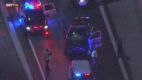 Goodyear police car involved in crash on I-10