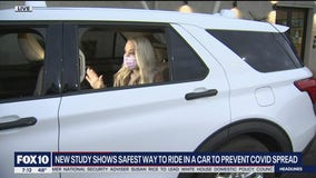New study shows safest way to ride in car to prevent spread of COVID-19