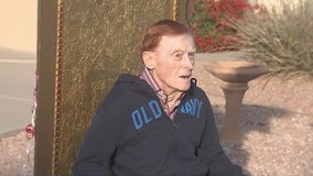 Chandler neighborhood throws surprise birthday drive-by for WWII veteran