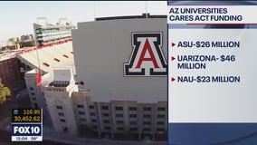 Arizona universities receive $115M in CARES Act funding