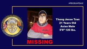 21-year-old 'endangered' missing Peoria man found safe
