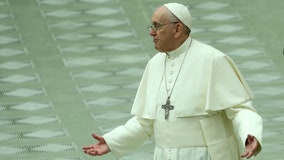 Pope Francis misses Vatican New Year's ceremonies due to back pain