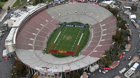 AP source: Rose Bowl denied exemption to allow fans for CFP