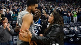 Wolves center Karl-Anthony Towns says he's tested positive for COVID-19