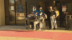 Collin County dad leaves hospital after 150 day battle with COVID-19