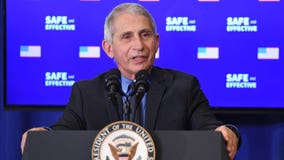Fauci, other top health officials publicly receive first dose of Moderna COVID-19 vaccine