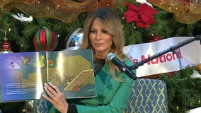 First lady Melania Trump visits children's hospital, continuing holiday tradition