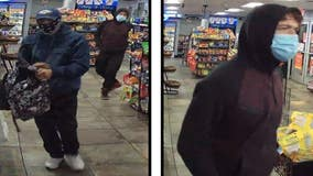 Two men accused of stealing tobacco items from Phoenix gas station