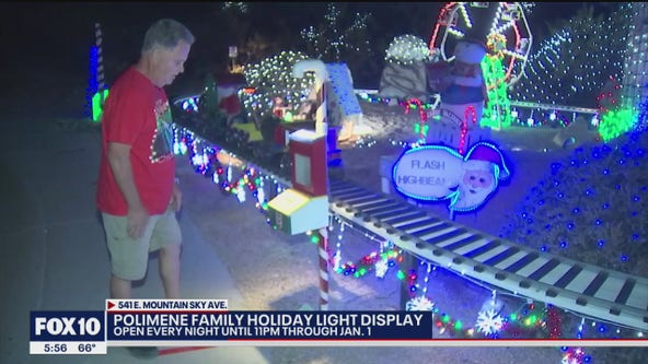 Ahwatukee family keeping holiday tradition with lights display