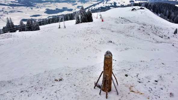 New phallus sculpture appears on mountain in Germany