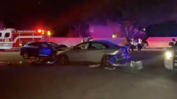 Phoenix Fire: 2 women in extremely critical condition following 4-car crash