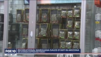 Long lines as recreational marijuana sales begin in Arizona